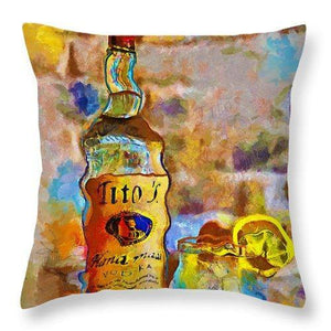 Titos - Throw Pillow