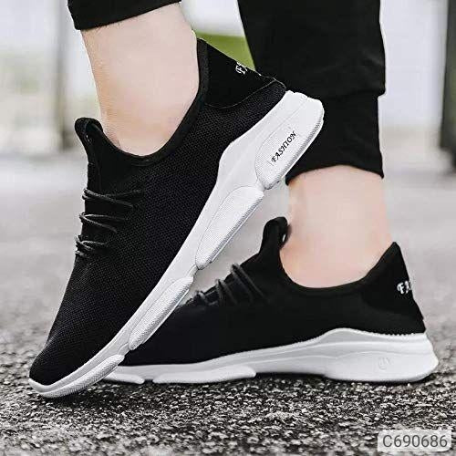 White Sole Casual Sneakers