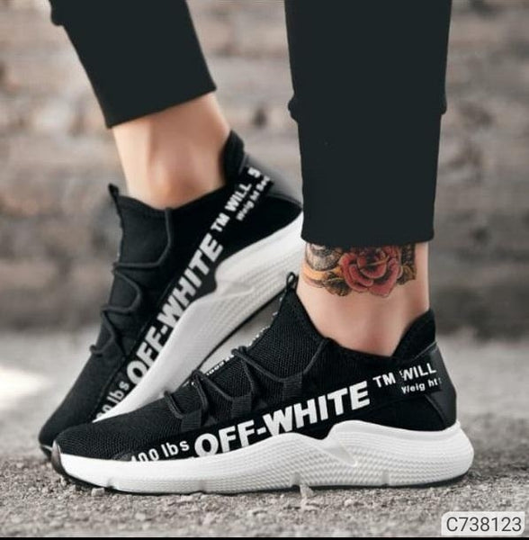 Off White Casual Sneakers