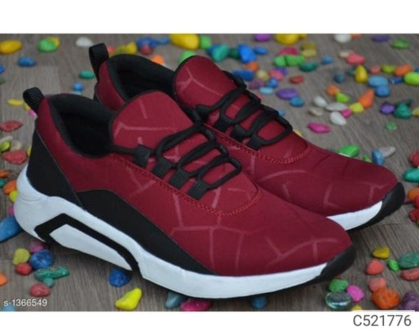 Maroon Sports Shoes
