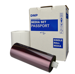 "DSRX1HS 4x6"" Media Kit for Passports -  Photo Paper and ribbon Kit"