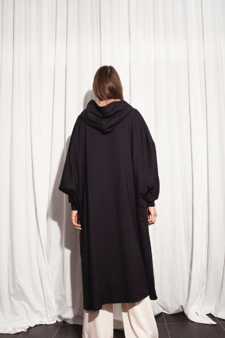 REVERSIBLE CAPE WOOL