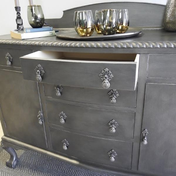 Creating a Pewter finish with Vintro