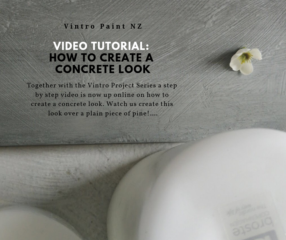 How to create a Concrete Look