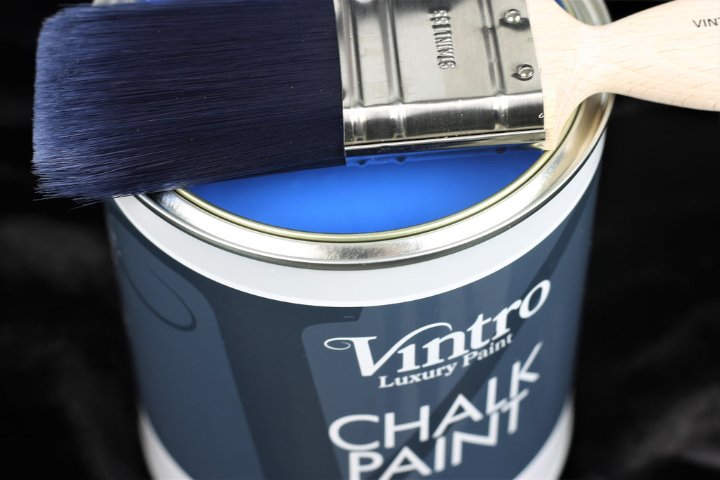 Introduction to Vintro: Adjusting Vintro Chalk Paint texture for 3 different finishes