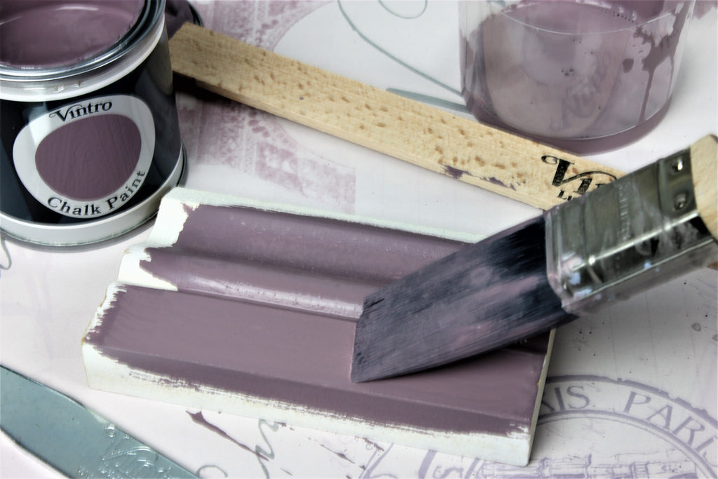 Introduction : See the coverage of a highly pigmented Vintro Chalk Paint