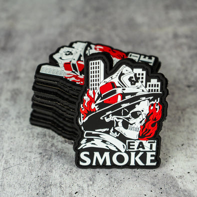 """Eat Smoke"" Patch - Salt Actual"