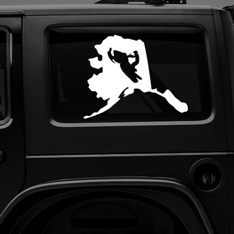ALASKA SNOWMACHINE - Vinyl Decal