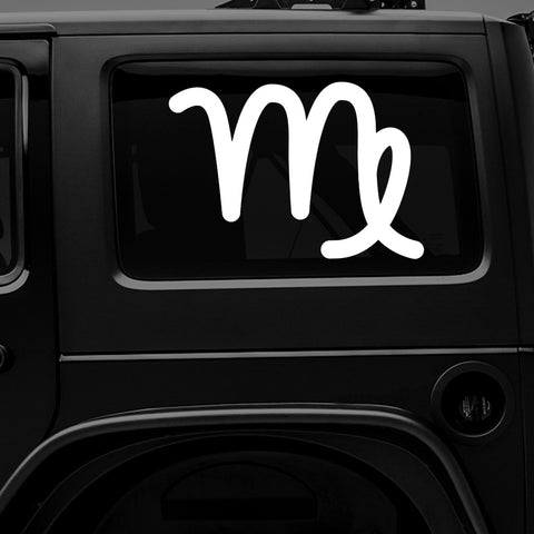 ♍ Virgo Zodiac Sign - Premium Vinyl Decal