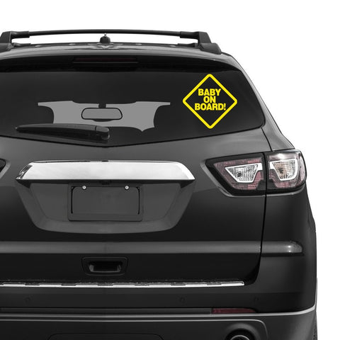 Baby On Board! 👶 - Vinyl Decal - BRAPSports.com - Stickers & Decals