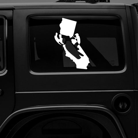 CALI SLED - Vinyl Decal/Sticker - BRAPSports.com - Stickers & Decals