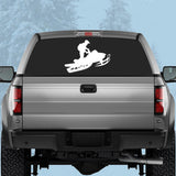 CLASSIC SLED - Vinyl Decal/Sticker - BRAPSports.com - Stickers & Decals