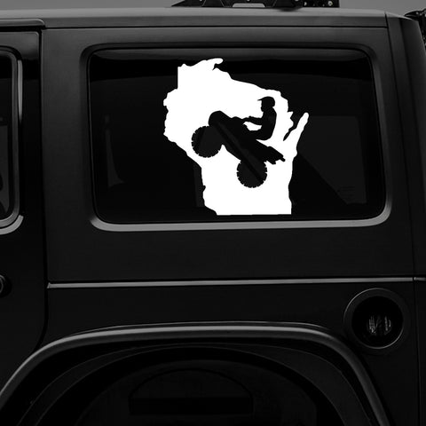Wisconsin ATV - Premium Vinyl Decal