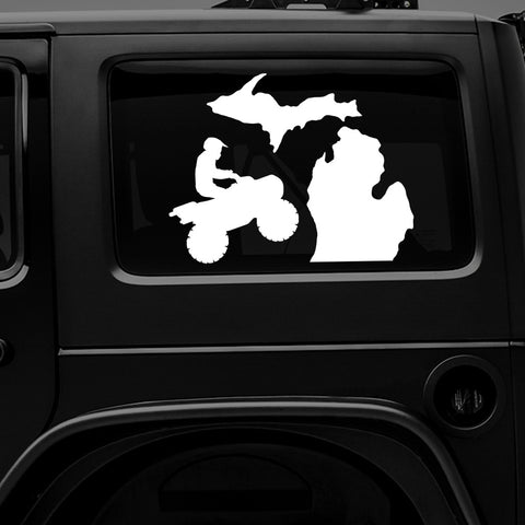 Michigan ATV - Premium Vinyl Decal/Sticker