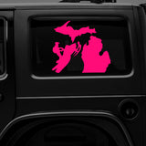 Michigan Snowmobile - Premium Vinyl Decal