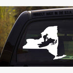 New York State Snowmobile Decal