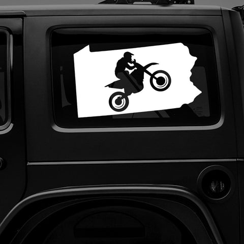 PENNSYLVANIA MOTO - Vinyl Decal/Sticker - BRAPSports.com - Stickers & Decals