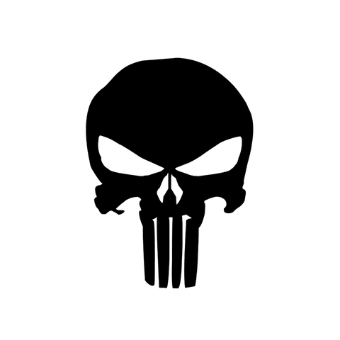 Punisher Skull - Vinyl Decal/Sticker - BRAPSports.com - Stickers & Decals