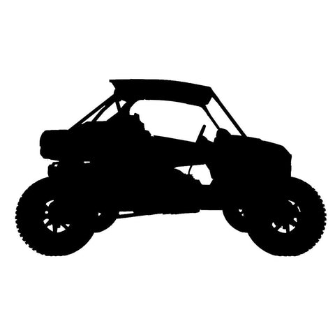 RZR - Side by Side / UTV - Vinyl Decal/Sticker - BRAPSports.com - Stickers & Decals