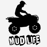 Utility ATV Mud Life - Vinyl Decal/Sticker - BRAPSports.com - Stickers & Decals