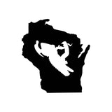 Wisconsin Snowmobile - Premium Vinyl Decal