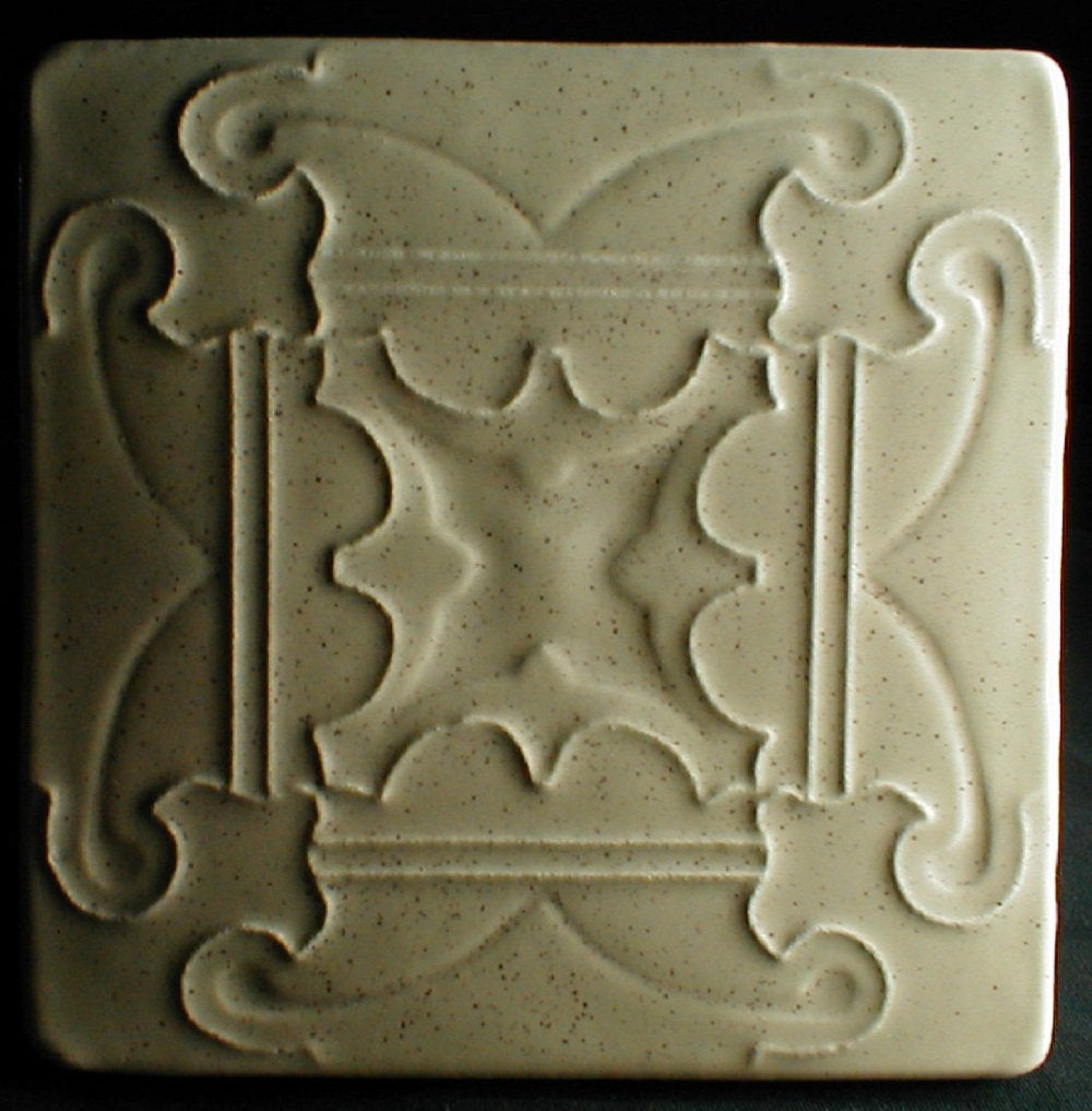 - Arts And Crafts Tile, 6x6 Handmade Tile, Fireplace Tile, Kitchen