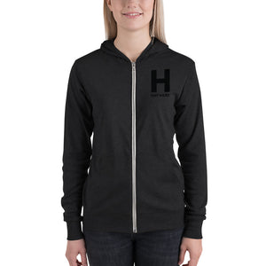 Hayward Black Unisex light hoodie