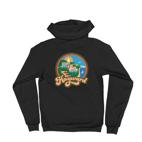 Hayward View Zip Up Hoodie sweater
