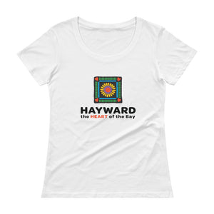 Heart of the Bay Scoopneck T-Shirt