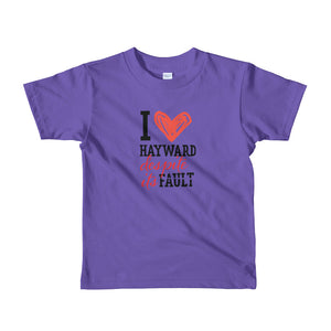 Hayward Fault Short sleeve toddler t-shirt
