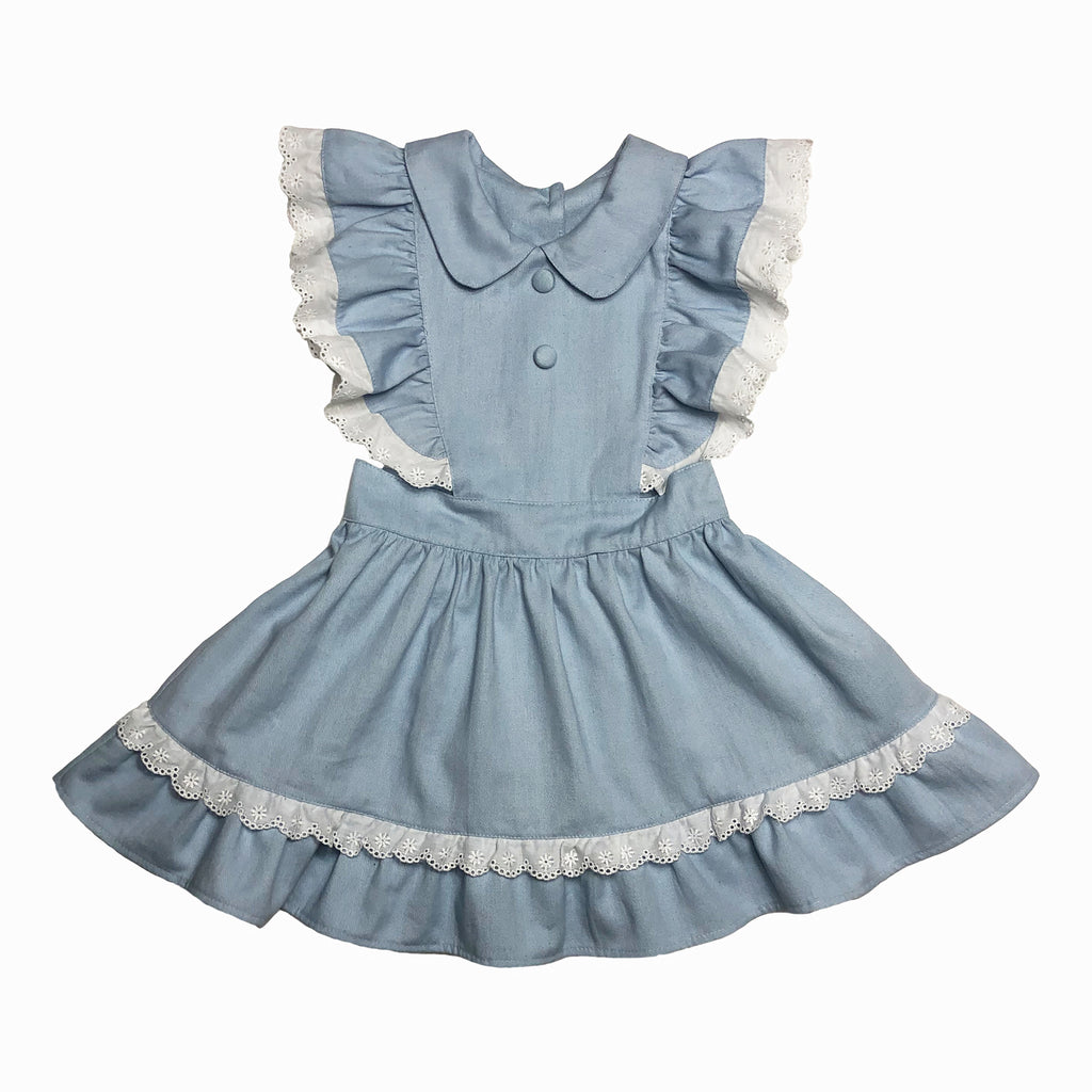 Alice Denim Pinafore