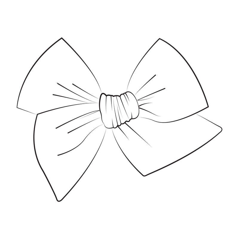 Large Pinwheel Bow