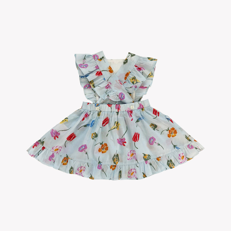 Colette Floral Pinafore Dress