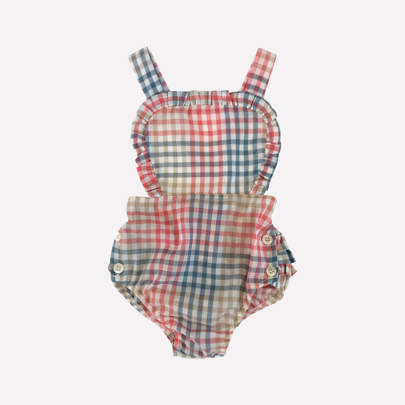Rowyn Plaid Romper
