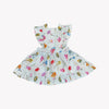 Charlotte White Swiss Dot Dress