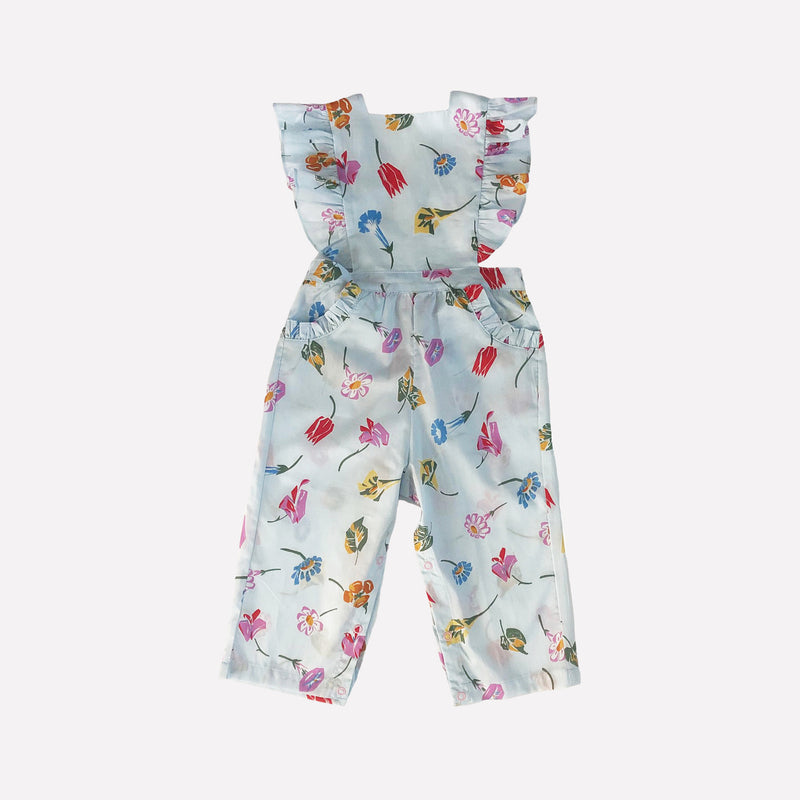 Colette Floral Pinafore Overalls