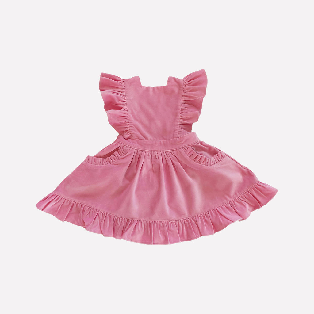 Colette Velvet Pinafore Dress