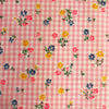 Custom Vintage Item - Dimity with Flocked Dots