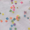 Custom Vintage Item - Flocked Confetti