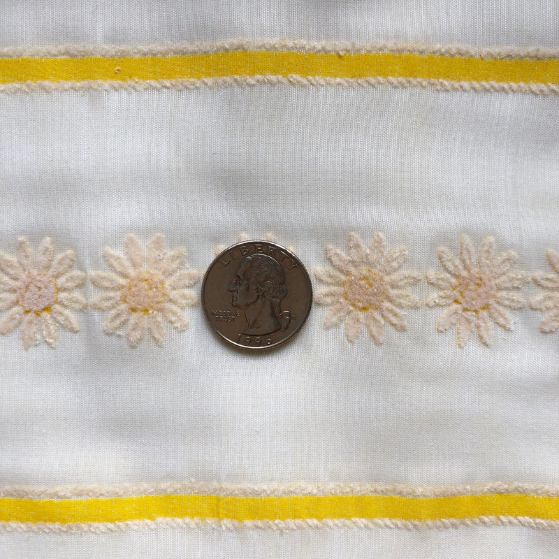 Custom Vintage Item - Daisies & Stripes