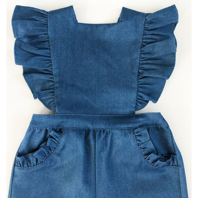 Colette Denim Pinafore Overalls