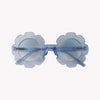 Blue Flower Sunglasses