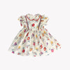 Charlotte Floral Swiss Dot Dress