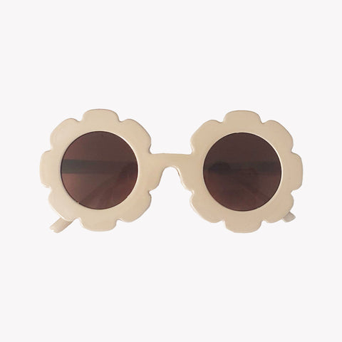 Tortoise Shell Flower Sunglasses