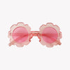 Pink Flower Sunglasses