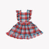 Summer Plaid Harper Halter Dress