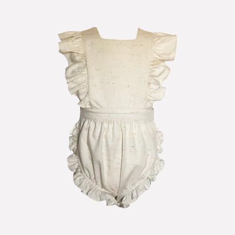 Colette Cream Pinafore Dress