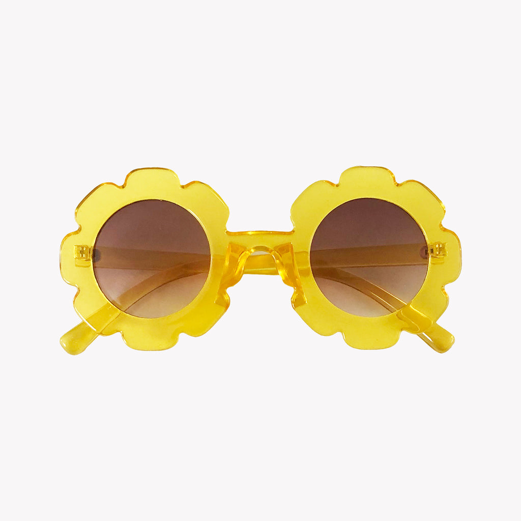 Yellow Flower Sunglasses