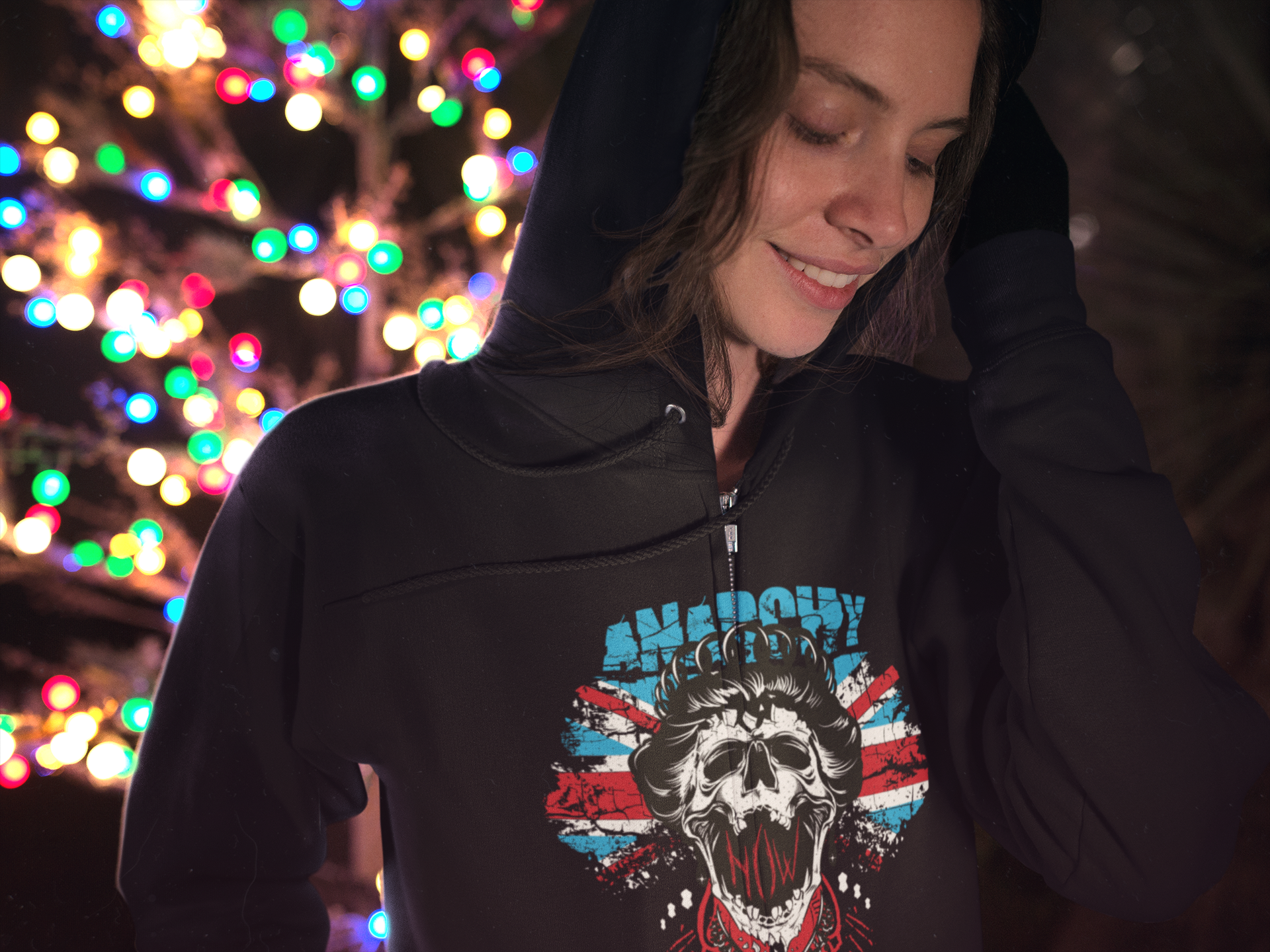 """Anarchy Queen"" Hoodie"