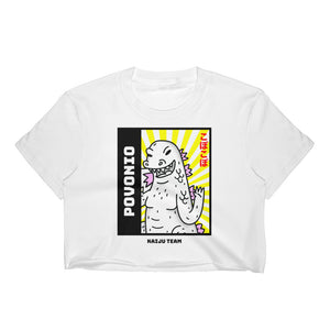 """Kaiju Team"" Women's Crop Top"